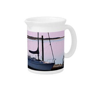 Ocean photo drink pitcher