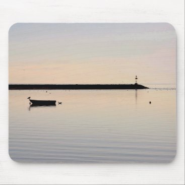 Beach Themed Ocean photo mouse pad