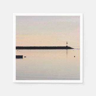 Ocean photo napkin