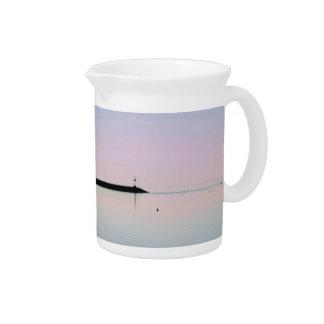 Ocean photo pitcher