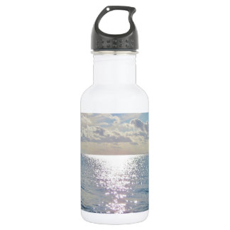 Ocean photo water bottle