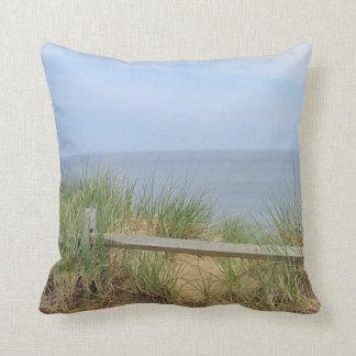 Ocean photography pillow