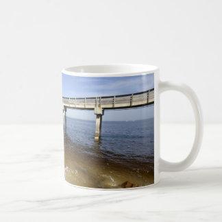 Ocean Pier Classic White Coffee Mug