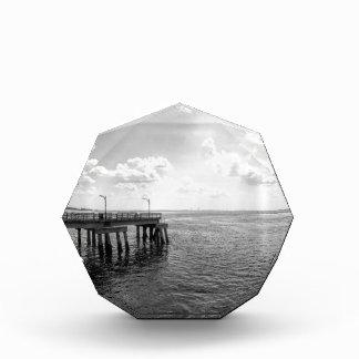 Ocean Pier in Black and White Award