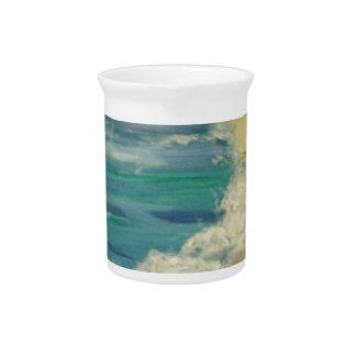ocean beverage pitcher