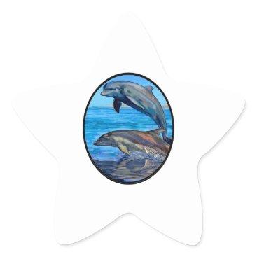 Hawaiian Themed Ocean Playmates Star Sticker