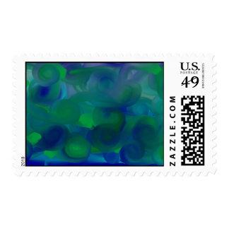 ocean postage stamp