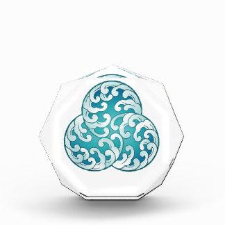 Ocean power crystal object award