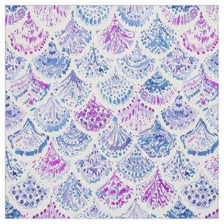 OCEAN PROTECTRESS Lavender Mermaid Scales Fabric