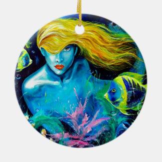 Ocean Queen Ceramic Ornament