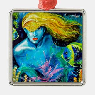 Ocean Queen Metal Ornament