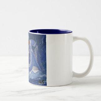 OCEAN QUEEN Two-Tone COFFEE MUG