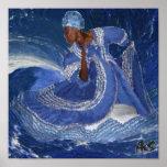 ocean queen YEMAYA Poster