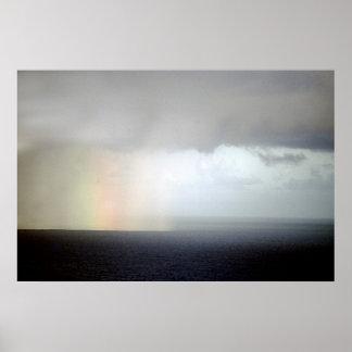 Ocean Rainbow Poster
