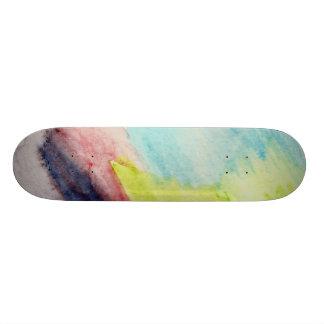 Ocean Rainbow Skateboard
