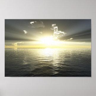 Ocean Ray Poster
