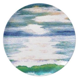 Ocean Reflections - cricketdiane plate design