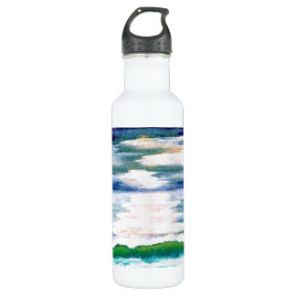 Ocean Reflections - cricketdiane Water Bottle
