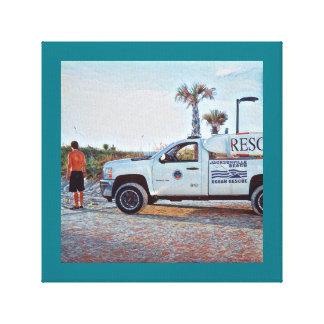 Ocean Rescue 2 Canvas Print