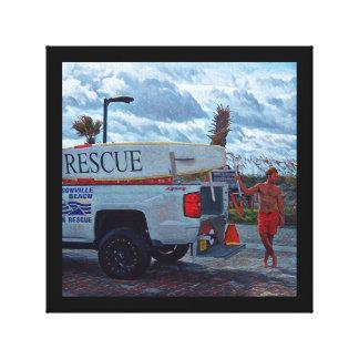 Ocean Rescue Canvas Print