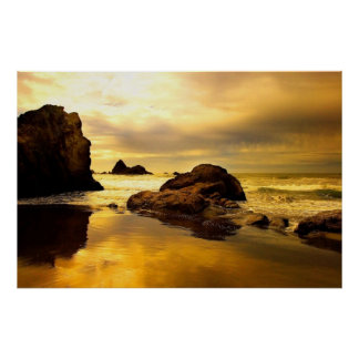 Ocean Rock poster