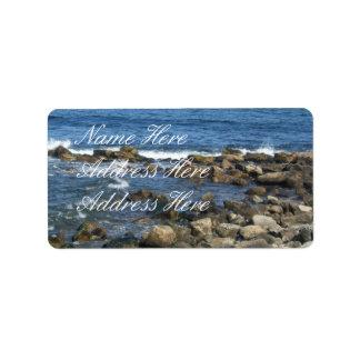 Ocean Rocks Address Labels