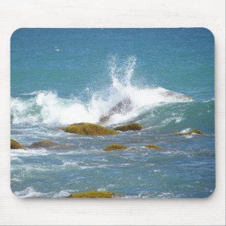 Ocean Rocks on Block Island Mouse Pad