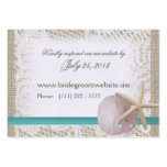 Ocean Romance Small Insert Card Large Business Card