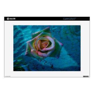 "Ocean rose 15"" laptop skins"