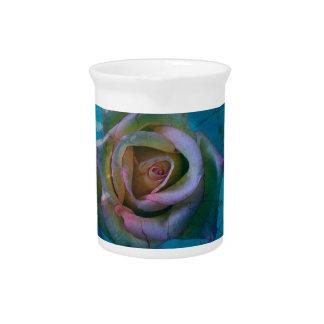Ocean rose beverage pitcher