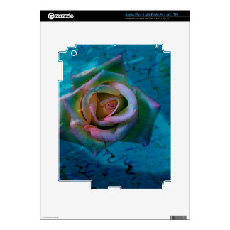 Ocean rose iPad 3 skins