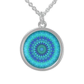 Ocean Round Pendant Necklace