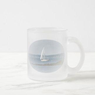 Ocean Sail Frosted Mug