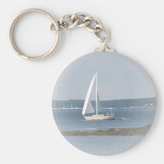 Ocean Sail Keychain