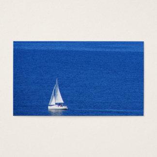 Ocean Sailing Business Card