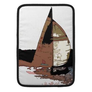 Ocean Sailing Sailboats Boats Harbor Sea Marina Sleeve For MacBook Air