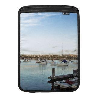 Ocean Sailing Sailboats Boats Harbor Sea Marina Sleeves For MacBook Air