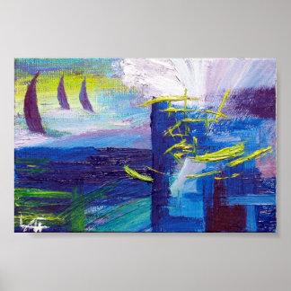 Ocean Sails Poster