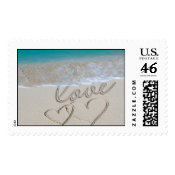 Ocean Sand Love (Large) stamp