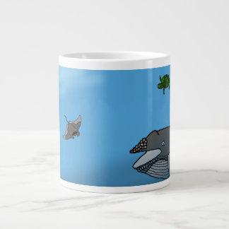 Ocean Scape Mug 20 Oz Large Ceramic Coffee Mug