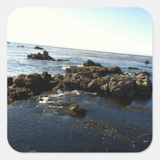 Ocean Scene #2 Pic Square Sticker