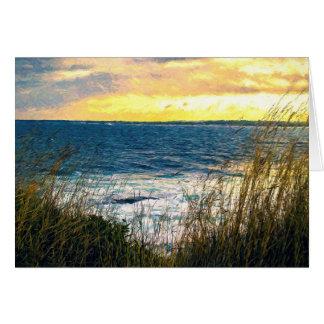 Ocean Scene Card