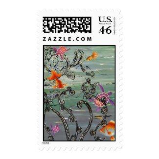 Ocean Scene Postage stamp