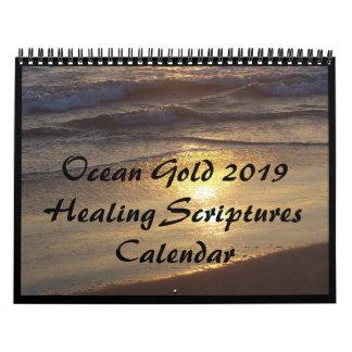 Ocean Scripture Bible Healing Verses 2019 Calendar
