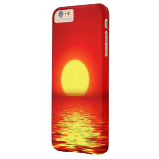 Ocean Sea Sunset Barely There iPhone 6 Plus Case