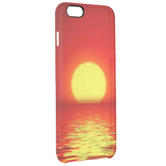 Ocean Sea Sunset Clear iPhone 6 Plus Case