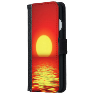 Ocean Sea Sunset iPhone 6/6s Wallet Case