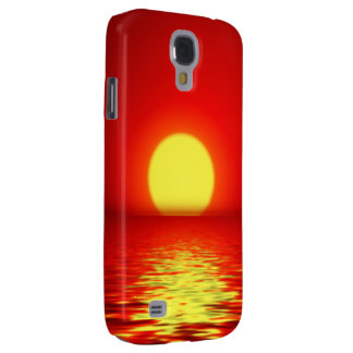 Ocean Sea Sunset Samsung Galaxy S4 Cover