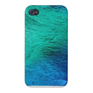 Ocean Sea Water Digital Art iPhone 4 Glossy Case