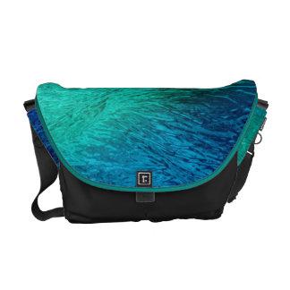 Ocean Sea Water Digital Art Messenger Bag